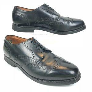 Allen Edmonds Wing Tip Oxford Shoes 12 E Black